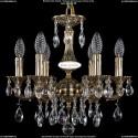 1702/6/CK125IV/A/GB Хрустальная подвесная люстра Bohemia Ivele Crystal