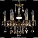 1707/6/125/A/GB/701 Хрустальная подвесная люстра Bohemia Ivele Crystal
