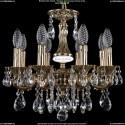 1702/8/CK125IV/A/GB Хрустальная подвесная люстра Bohemia Ivele Crystal
