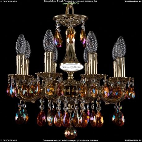 1707/8/125/A/GB/711 Хрустальная подвесная люстра Bohemia Ivele Crystal