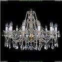 1413/12/300/G Хрустальная подвесная люстра Bohemia Ivele Crystal