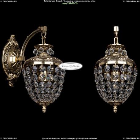 1777/1/150IT/GB Хрустальное бра Bohemia Ivele Crystal