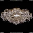 1930/55Z/G Хрустальная подвесная люстра Bohemia Ivele Crystal