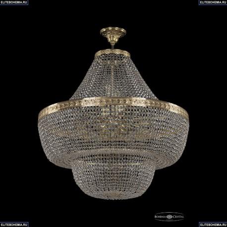19091/H1/80IV G Хрустальная потолочная люстра Bohemia Ivele Crystal (Богемия), 1909