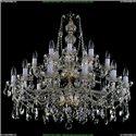1413/21/360/77 Хрустальная подвесная люстра Bohemia Ivele Crystal (Богемия)