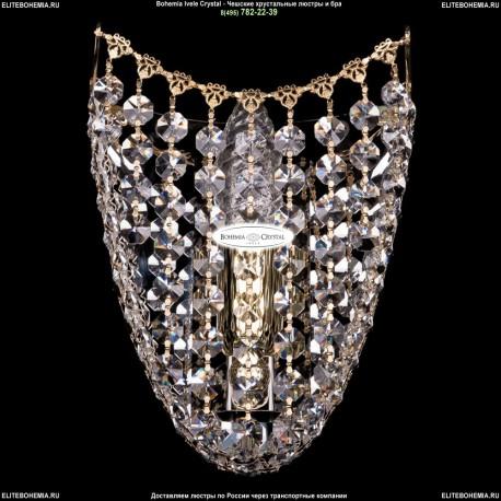 7708/1/S/G Хрустальное бра Bohemia Ivele Crystal