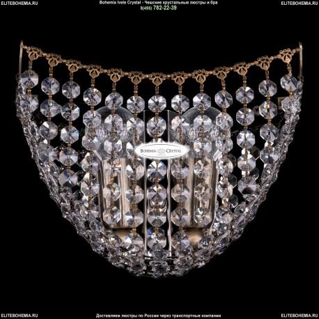 7708/2/W/Pa Хрустальное бра Bohemia Ivele Crystal