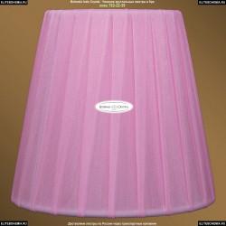 SH1 Абажур Розовый Bohemia Ivele Crystal