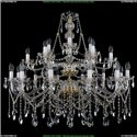 1413/21/400/87 Хрустальная подвесная люстра Bohemia Ivele Crystal