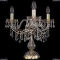 1403L/3/141-39/G Хрустальная настольная лампа Bohemia Ivele Crystal