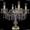 1403L/4/141-39/G Хрустальная настольная лампа Bohemia Ivele Crystal