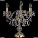 1409L/3/141-39/G Настольная лампа Bohemia Ivele Crystal (Богемия), 1409