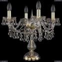 1409L/4/141-39/G Хрустальная настольная лампа Bohemia Ivele Crystal
