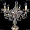 1409L/5/141-39/G Настольная лампа Bohemia Ivele Crystal (Богемия), 1409