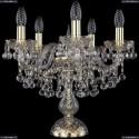 1409L/5/141-39/G Хрустальная настольная лампа Bohemia Ivele Crystal