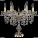 1409L/6/141-39/G Хрустальная настольная лампа Bohemia Ivele Crystal