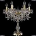 1409L/6/141-47/G Хрустальная настольная лампа Bohemia Ivele Crystal