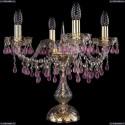 1410L/4/141-39/G/V7010 Настольная лампа Bohemia Ivele Crystal (Богемия), 1410