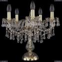 1410L/5/141-39/G/V0300 Хрустальная настольная лампа Bohemia Ivele Crystal