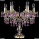 1410L/6/141-39/G/V7010 Хрустальная настольная лампа Bohemia Ivele Crystal