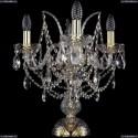 1411L/3/141-39/G Настольная лампа Bohemia Ivele Crystal (Богемия), 1411