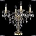 1415L/4/141-39/G Хрустальная настольная лампа Bohemia Ivele Crystal