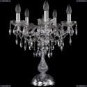 1415L/5/141-47/Ni Хрустальная настольная лампа Bohemia Ivele Crystal