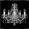 1413/5/165/G Хрустальная подвесная люстра Bohemia Ivele Crystal (Богемия)