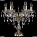 1415L/6/141-39/G Хрустальная настольная лампа Bohemia Ivele Crystal