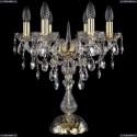 1415L/6/141-47/G Хрустальная настольная лампа Bohemia Ivele Crystal