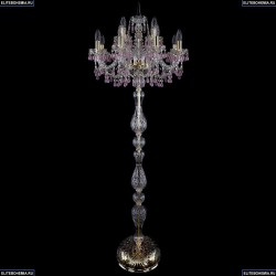 1410T1/8+4/195-165/G/V7010 Торшер Bohemia Ivele Crystal (Богемия), 1410