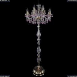 1410T1/8+4/195-165/G/V7010 Хрустальный торшер Bohemia Ivele Crystal