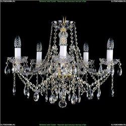 1413/5/200/G Хрустальная подвесная люстра Bohemia Ivele Crystal (Богемия)