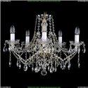 1413/5/200/G Хрустальная подвесная люстра Bohemia Ivele Crystal