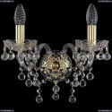 1409B/2/141/G Хрустальное бра Bohemia Ivele Crystal