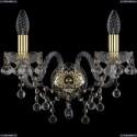1409B/2/160/G Хрустальное бра Bohemia Ivele Crystal