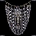 7708/1S/Pa Хрустальное бра Bohemia Ivele Crystal