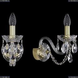 1402B/1/160/G Хрустальное бра Bohemia Ivele Crystal
