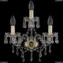 1403B/2+1/141/G Хрустальное бра Bohemia Ivele Crystal