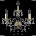 1403B/2+1/160/G Хрустальное бра Bohemia Ivele Crystal