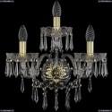 1403B/2+1/160/XL/G Хрустальное бра Bohemia Ivele Crystal