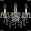1403B/3/141/G Хрустальное бра Bohemia Ivele Crystal