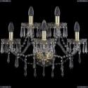 1403B/3+2/195/XL/G Хрустальное бра Bohemia Ivele Crystal