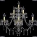 1403B/3+2+1/240/XL/G Хрустальное бра Bohemia Ivele Crystal