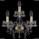 1409B/2+1/141/G Хрустальное бра Bohemia Ivele Crystal