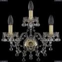1409B/2+1/160/G Бра Bohemia Ivele Crystal (Богемия), 1409
