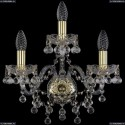 1409B/2+1/160/G Хрустальное бра Bohemia Ivele Crystal