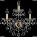 1409B/2+1/160/XL/G Хрустальное бра Bohemia Ivele Crystal