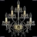 1409B/2+2+1/160/G Хрустальное бра Bohemia Ivele Crystal