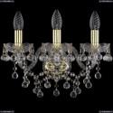 1409B/3/141/G Хрустальное бра Bohemia Ivele Crystal